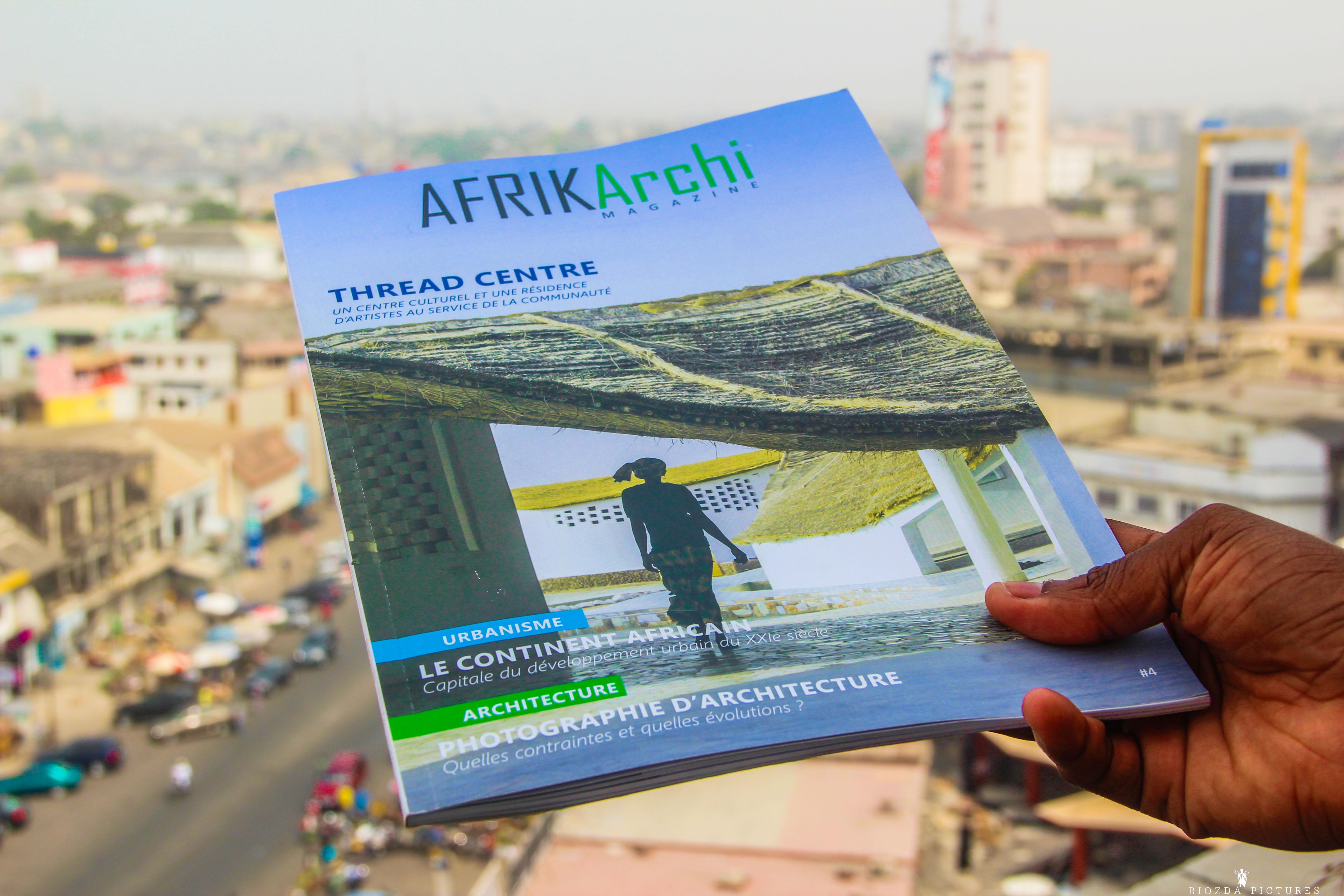 Le magazine AFRIKArchi disponible en version numérique également