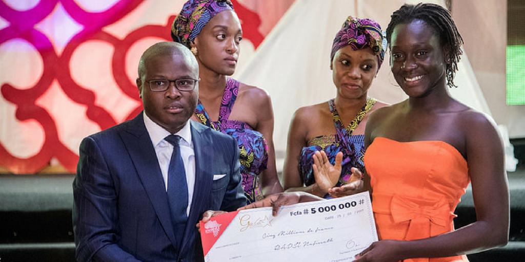Les photos des Champions Béninois