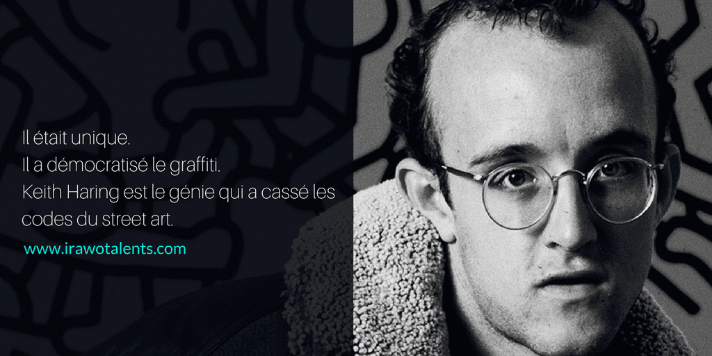 Keith Haring, le génie qui casse les codes du street art