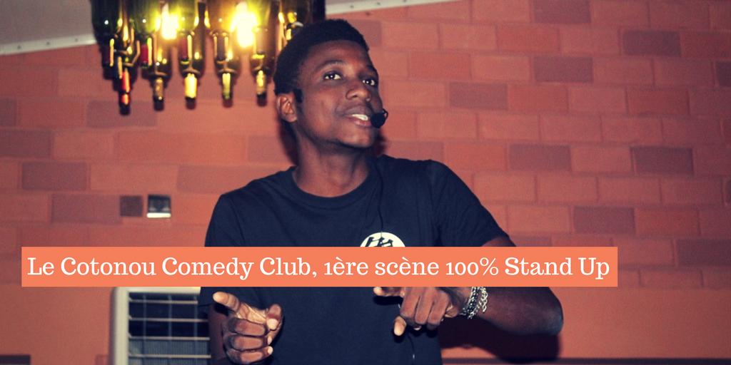 L'histoire du Cotonou Comedy Club, la Première Scène 100% Stand Up du Bénin