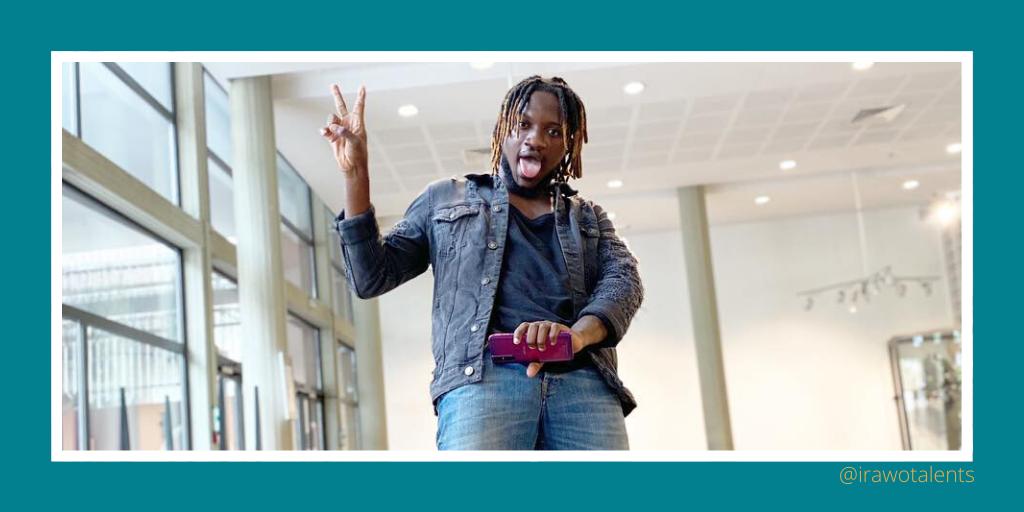 Talents africains : Ange Freddy, l'humoriste ivoirien nous déballe ses échecs et actes
