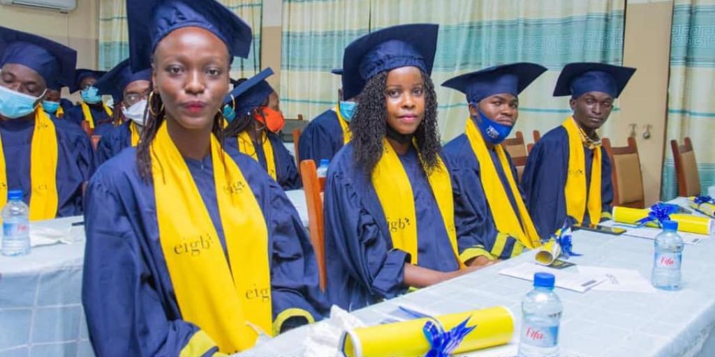 Des étudiants de EIG Bénin